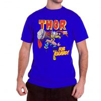 Camiseta Marvel Comic azul