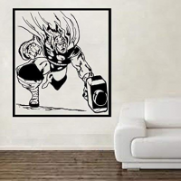 Adhesivo de pared Thor